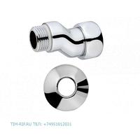 Эксцентрик с накидной гайкой хромированный 1/2M*1F TIM K8-XFM042