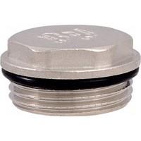 Заглушка с уплотнительным кольцом никель ДУ-1 TIM М301-4