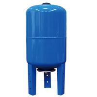 Расширительный бак вертикальный 100 литров для х/воды с опорами TIMVCF-100L