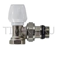 Клапан радиаторный настраиваемый угловой 1/2 TIM RS521.02