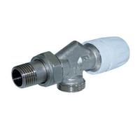 Клапан термостатический угловой с осевым управлением  1/2*3/4 TIM ME860E