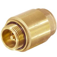 """Обратный клапан для скваженного насоса с металлическим штоком 1""""нар-внутр. TIM JH-1012A"""