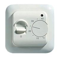 Комнатный электрический термостат без возможности подключения внешнего датчика TIM M5.716