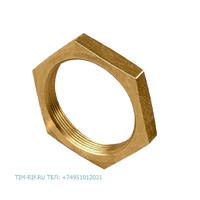Контрагайка 3/8 латунный без покрытия TIM GF008