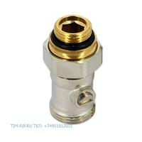 Кран для нижнего подключения радиатора прямой 3/4*1/2 TIM ME320AC