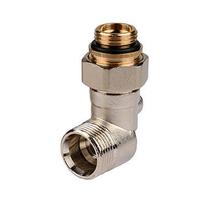 Кран для нижнего подключения радиатора угловой 3/4*1/2 TIM ME321AC