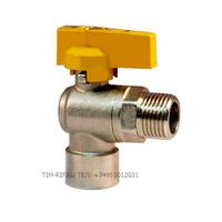Кран шаровой для газа угловой 1/2 г/ш TIM DE122L