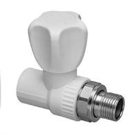 Кран PPR для радиатора прямой D20*1/2 ASB-2025А-1