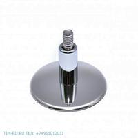 Крепление телескопическое со скрытыми отверстиями без кольца для полотенцесушителей TIM K19-1H