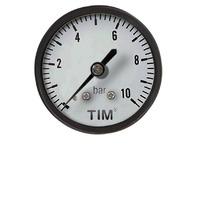 Манометр аксиальный 10 бар TIM Y-50T-10bar