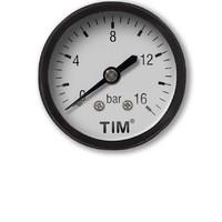 Манометр аксиальный 16 бар TIM Y50T-16bar