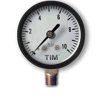 Манометр радиальный 10 бар TIM Y50-10bar