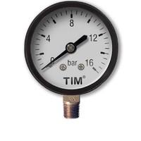 Манометр радиальный 16 бар TIM Y-50-16bar