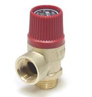 """Мембранный предохранительный клапан 1/2""""ш-6 бар красный TIM BL22MF-K-6"""