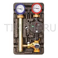 Насосная группа быстрого монтажа с трёхходовым термостатическим смесительным клапаном без насоса ZEISSLER NG-TK-0101