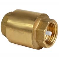 """Обратный клапан с металлическим штоком усиленный 11/4"""" в-в TIM JH-1013"""