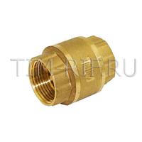"Обратный клапан с латунным штоком 11/2""г/г стандарт TIM JH-1014std"