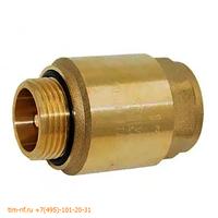 Обратный клапан с латунным штоком 11/4 г/ш усилиный для скважинныго насоса TIM JH-1013A