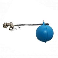 Поплавковый клапан для емкости 1/2 диаметр поплавка 120мм TIM BAF6212S