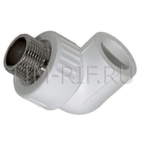 PPR Угольник комбинированный НР L20*1/2M TIM Tpp3036.0.02002s