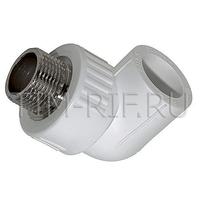 PPR Угольник комбинированный НР L25*1/2M TIM Tpp3036.0.02502s