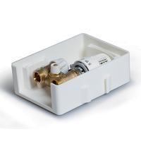 Регулировочный короб с ограничителем температуры обратного потока TIM TCB-C/RTL01