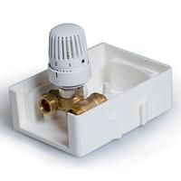 Регулировочный короб с термостатическим клапаном TCB-K01