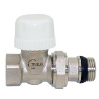 """Регулировочный вентиль верхний прямой 3/4"""" под термоголовку, быстрого монтажа RVD206.03"""
