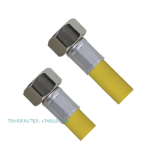 Шланг для газа с PVC покрытием 1/2Fx1/2F 40см. TIM C-GP26-4