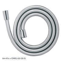 Шланг душевой силиконовый 150 см Матовый серебристый TIM C-M150-04SV
