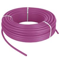 Сшитый полиэтилен PE-Xb, диаметр Ø20 с кислородным барьером,  толщина стенки 2.8, фиолетовый цвет TPEX2028-100 Pink