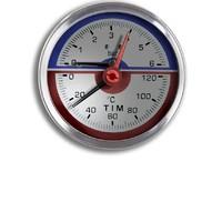 Термо-Манометр аксиальный 16 бар TIM Y-80T-16bar