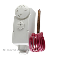 Термостат с капиллярной трубкой и погружным датчиком TIM TC-E-0090F