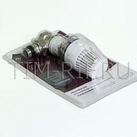 """Термостатический клапан для углового присоединения 3/4"""" TIM RVKS205.03"""