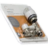 """Термостатический комплект для радиатора прямой Ф-3/4"""" TIM RVKD208.03"""