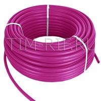 Труба из сшитого полиэтилена PE-Xb 16*2.2 500м фиолетовый TPEX 1622-500 Pink