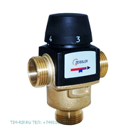 """Универсальный термостатический смесительный клапан ДУ """"1"""" TIM BL3170C04"""