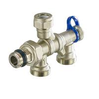 Терморегулирующий узел для системы отопления, двухтрубной и однутрубной системы, для обратки ME877