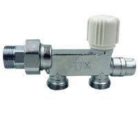 """Терморегулирующий узел для системы отопления, однотрубной системы, для нижнего подключения, 3/4""""  12мм ME1420-3"""