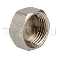 Заглушка никель ДУ-11/2 г TIM GM006N