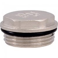 Заглушка с уплотнительным кольцом никель ДУ-3/4 TIM М301-3